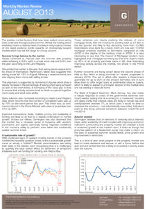 Market Review - August 2013