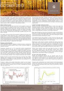 Market Review - October 2013